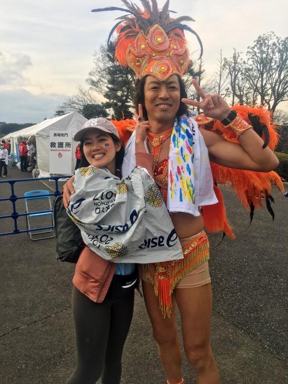 Carnival marathoner