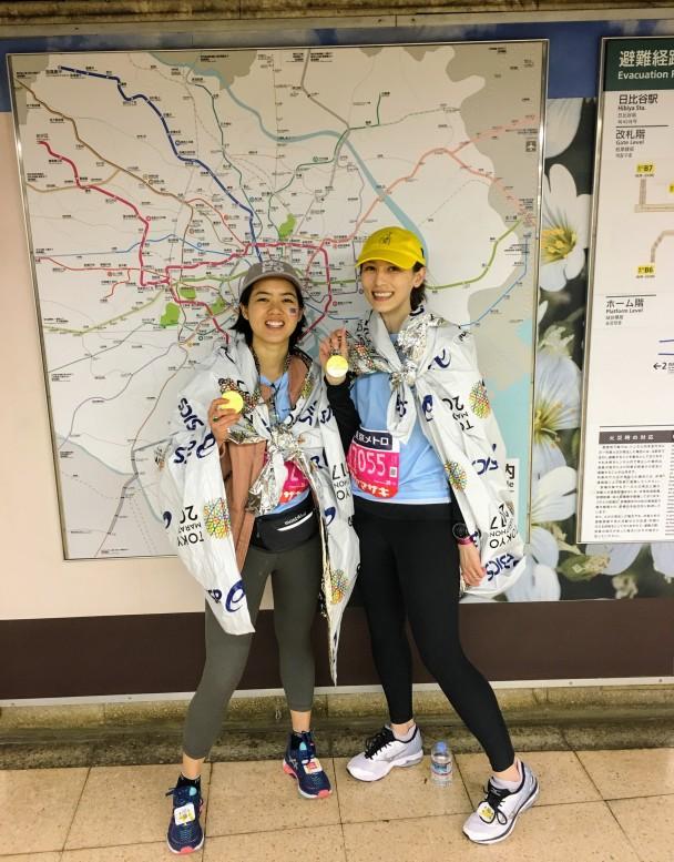 Marathon finisher outfits